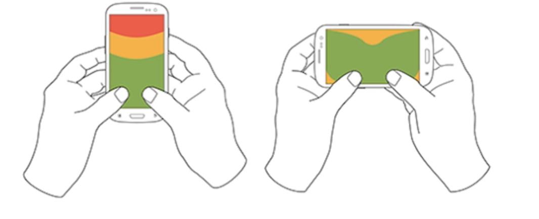 Stratégie de contenu sur mobile : navigation mobile - k4tegori