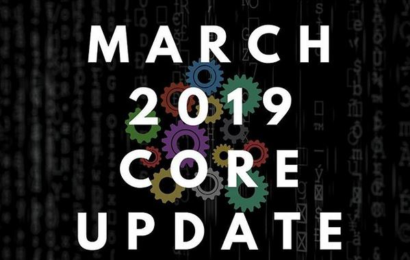 March 2019 core update - mise a jour google - agence seo k4tegori