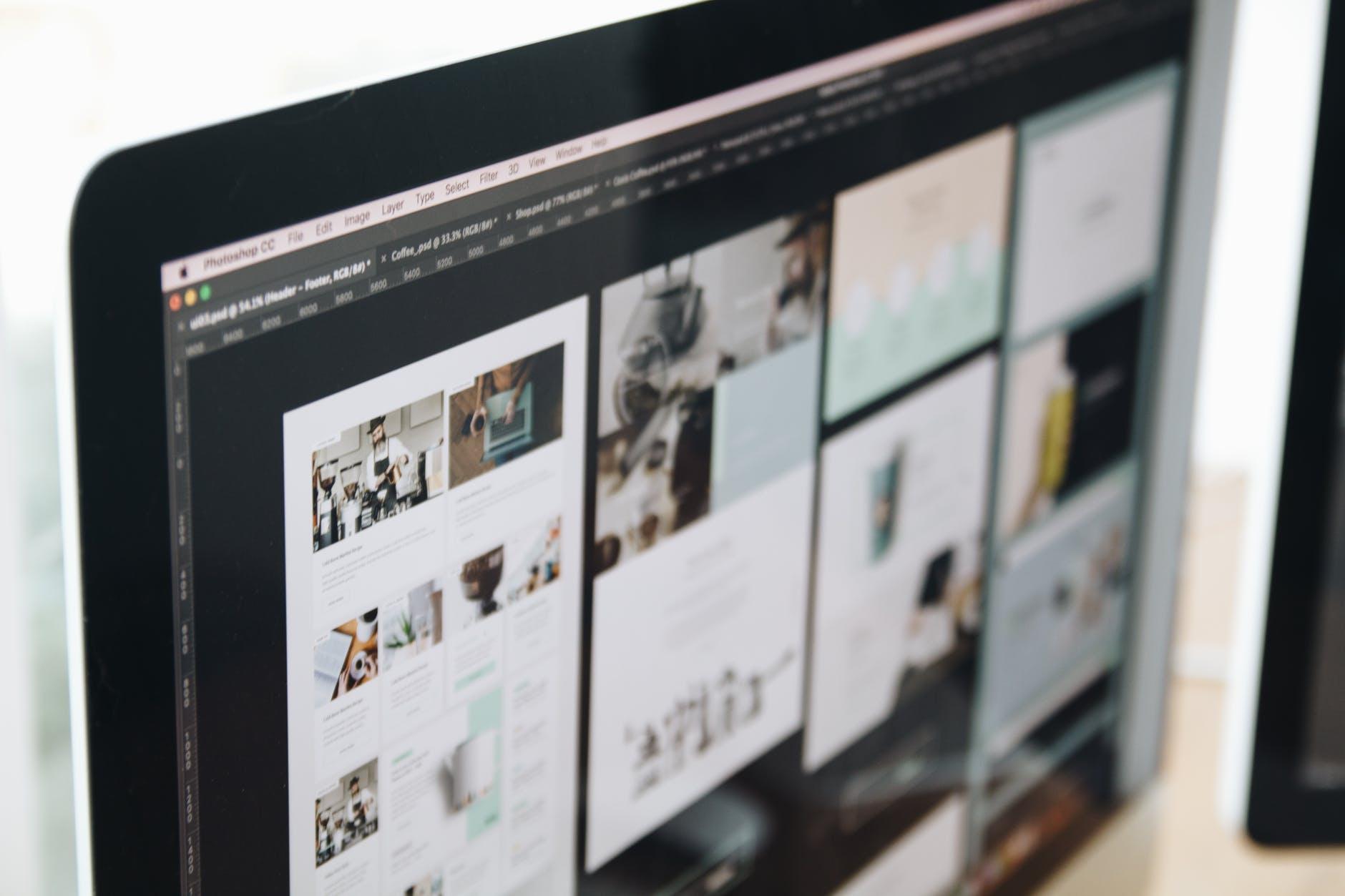 Maquettes web design - agence webmarketing k4tegori